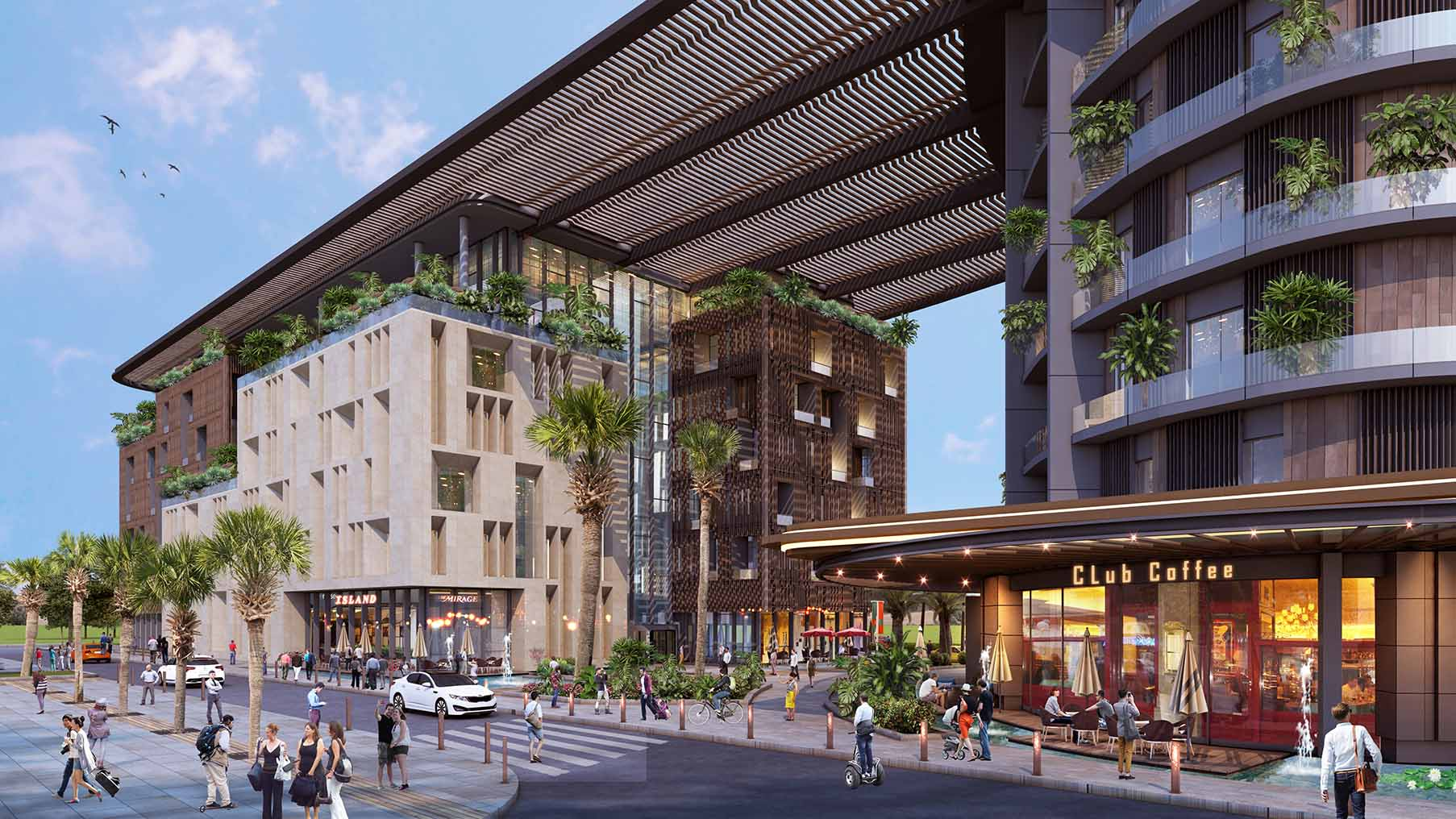 Malta Skyparks Mixed Use Commercial